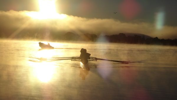 Leahurst College rowing